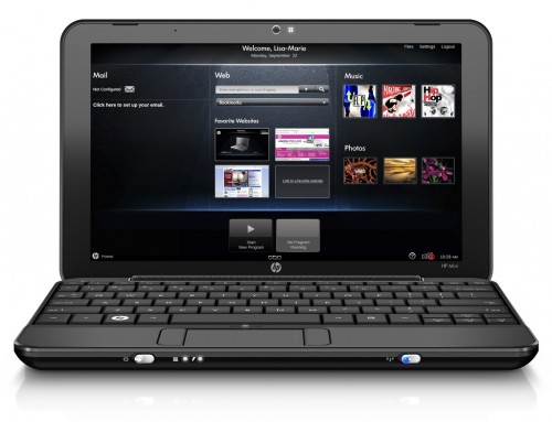 HP Mini 1000 MIE (Mobile Internet Experience)