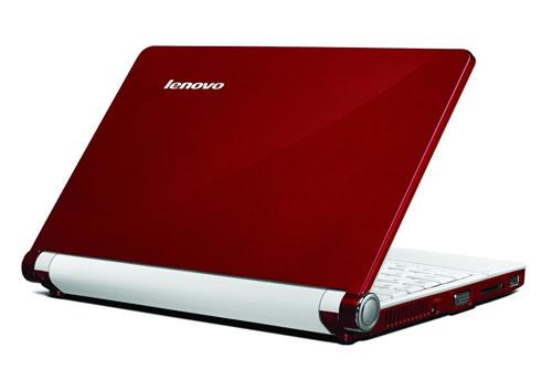 Red Lenovo IdeaPad S10